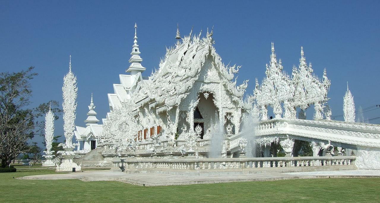 templo tailandés impresionante