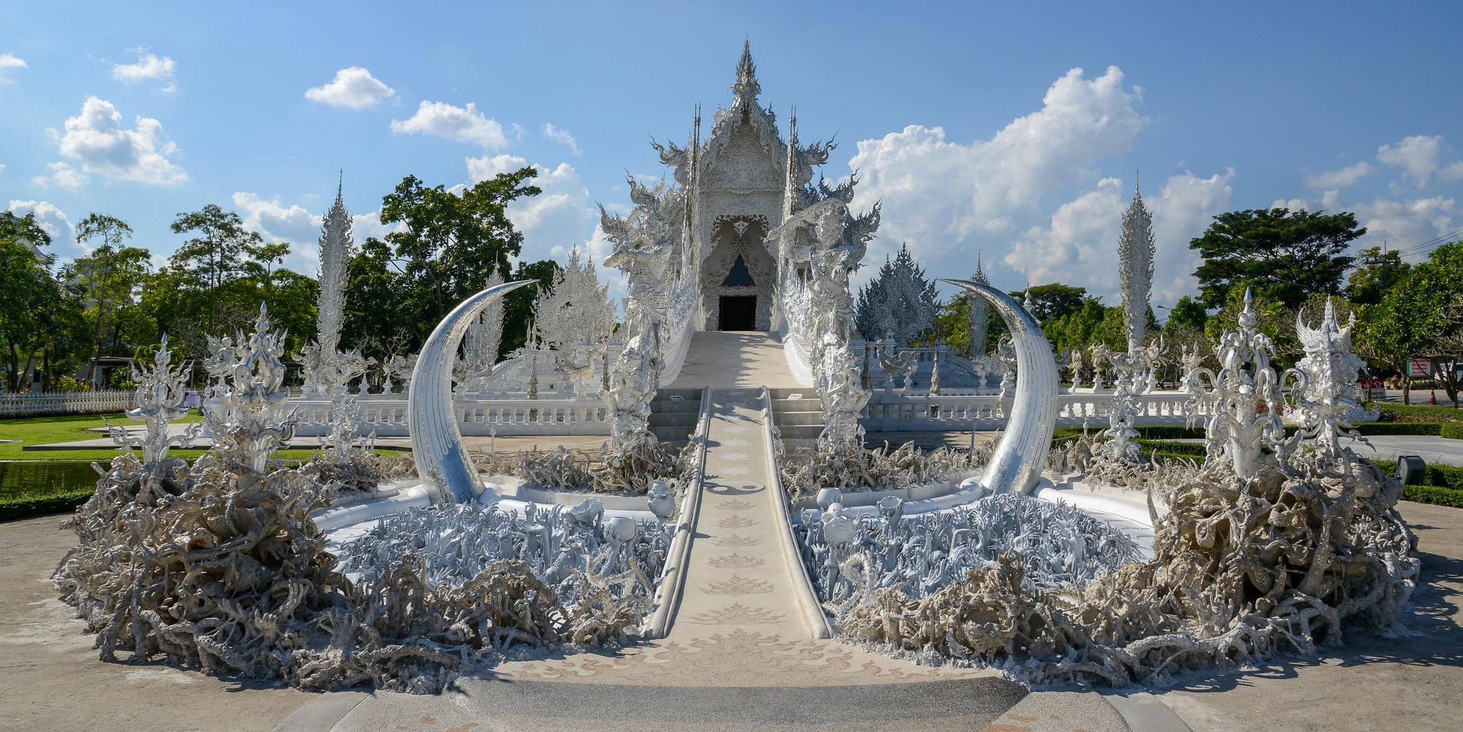 templo blanco de wat rong khun