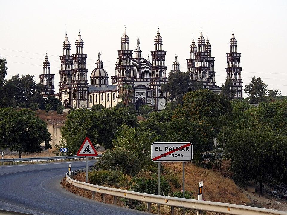 iglesia del palmar de troya