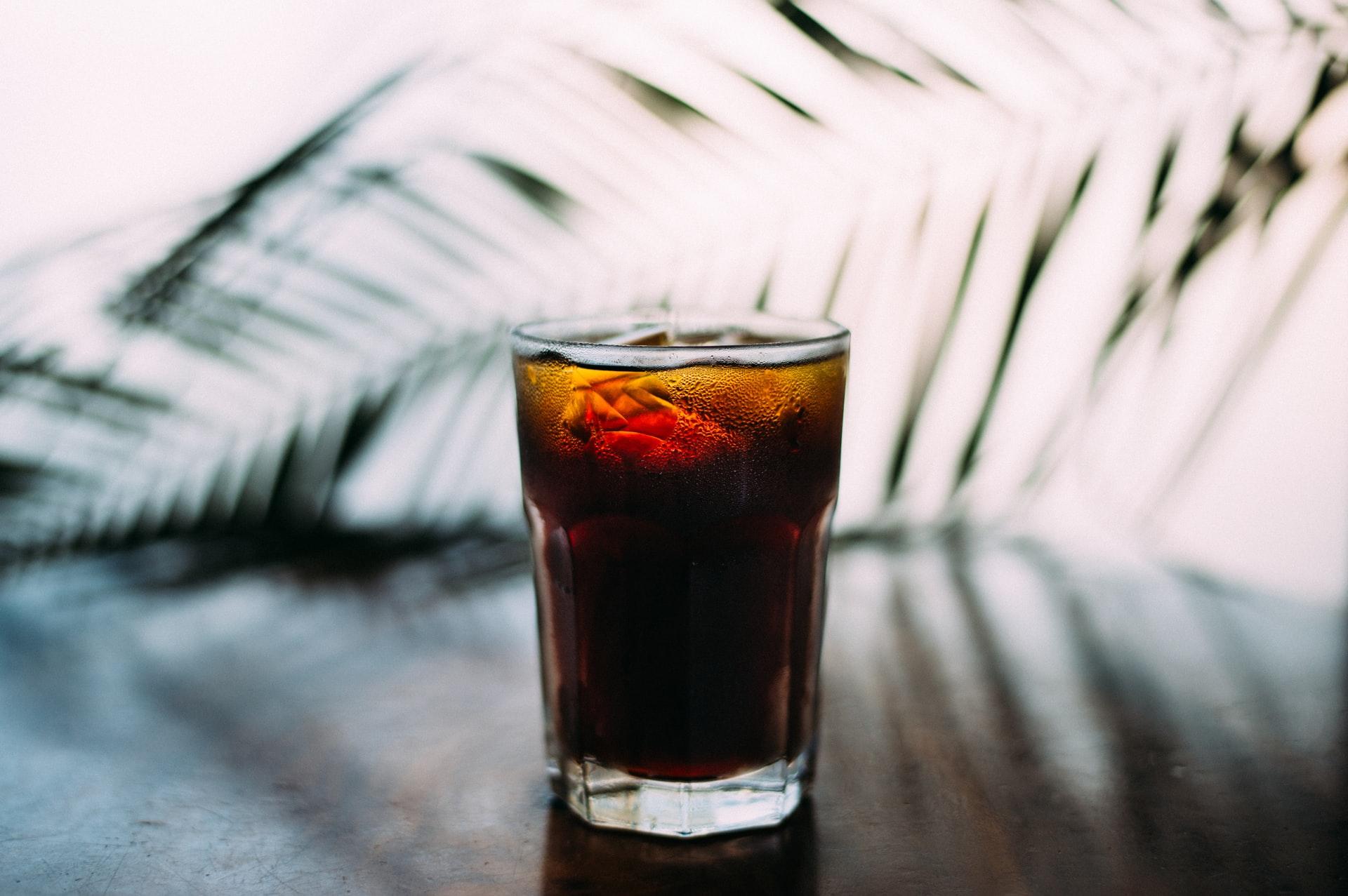 café con cocacola