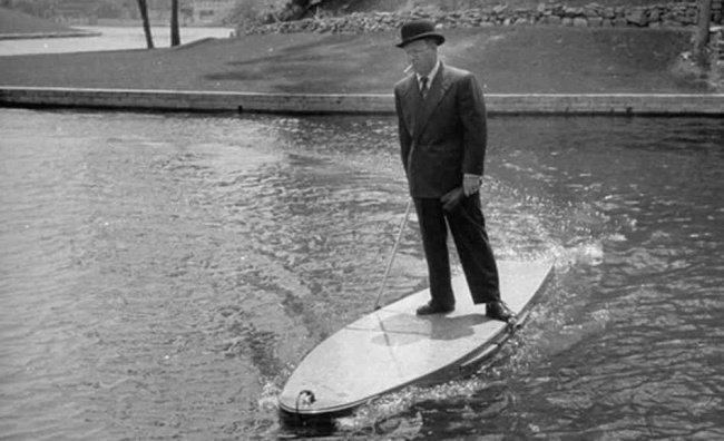 tabla de surf siglo veinte
