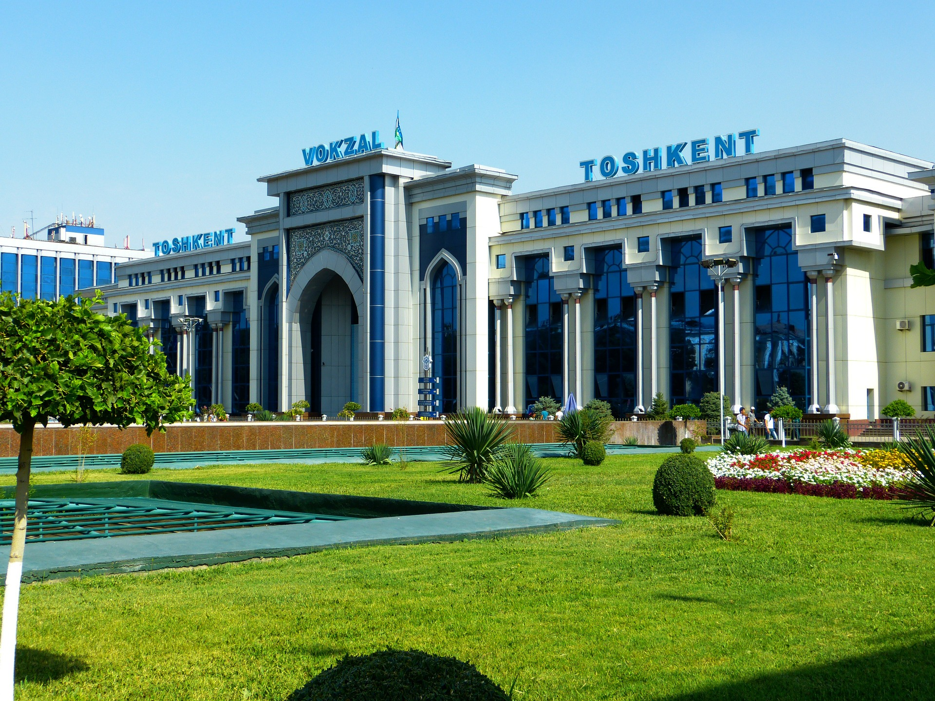 estacion tren uzbekistan