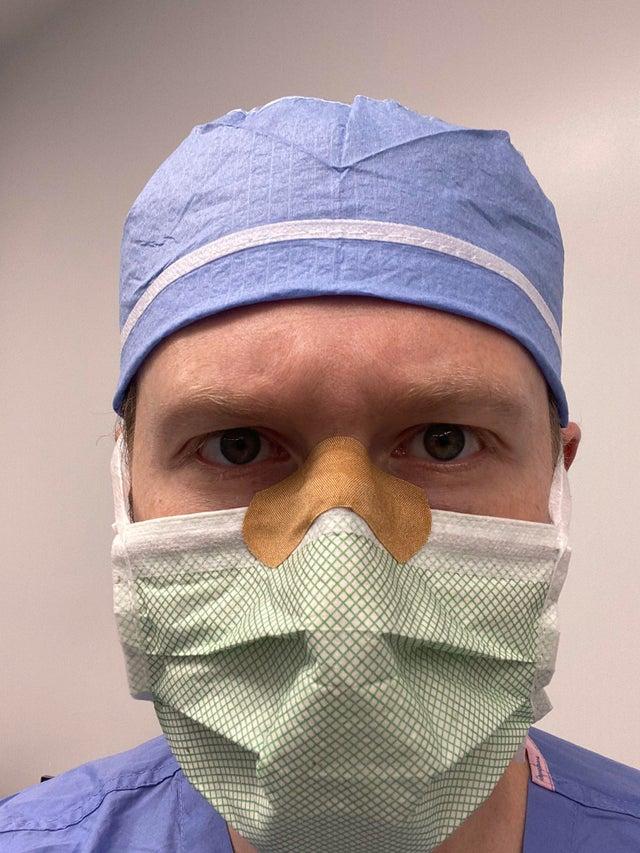 tirita para evitar que se empañen las gafas con la mascarilla