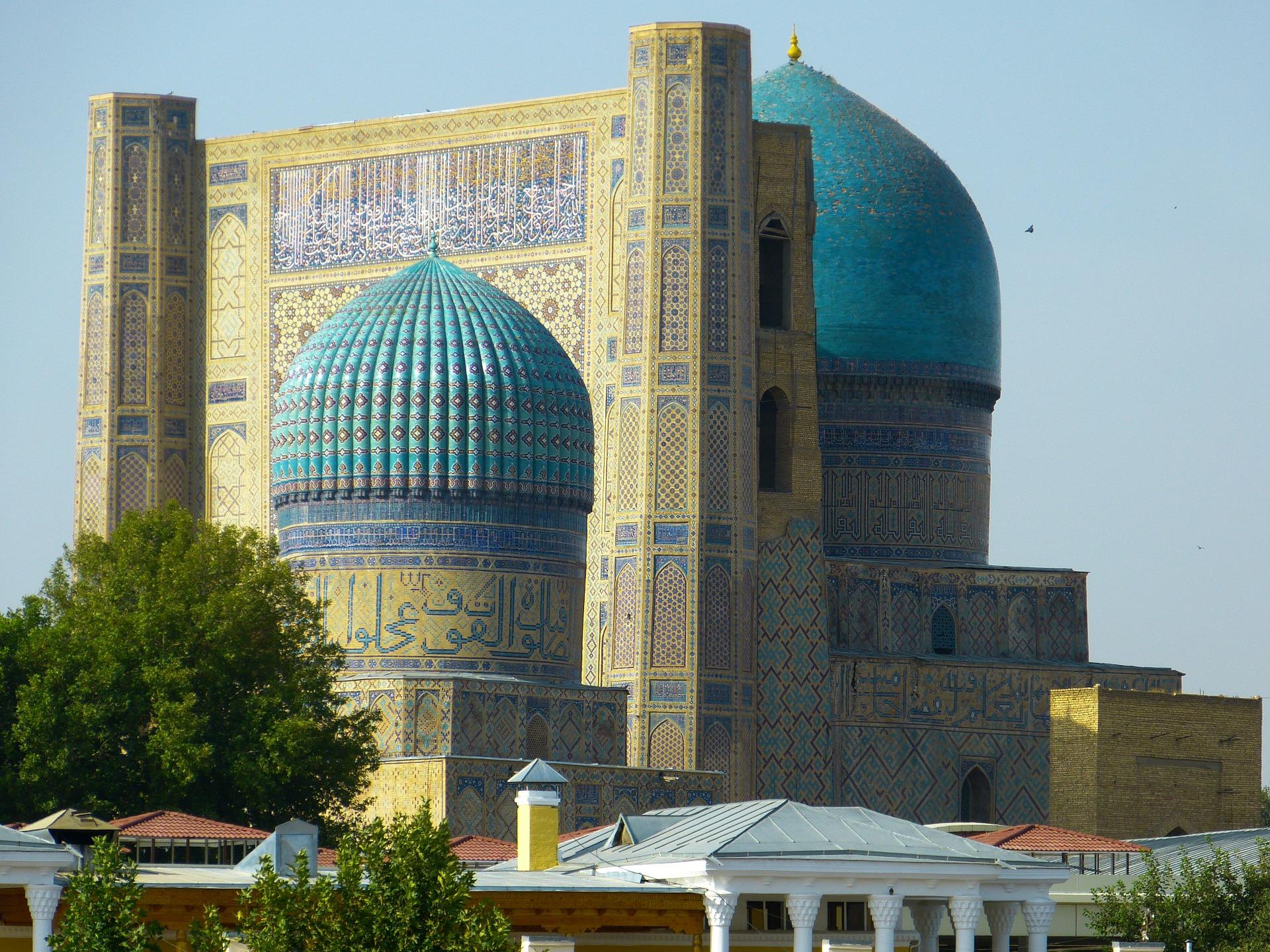 uzbekistan samarcanda mezquita