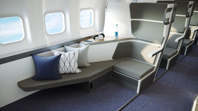 avion asiento