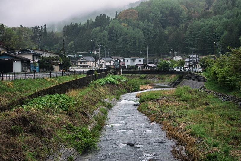 pueblos japoneses típicos narai-juku