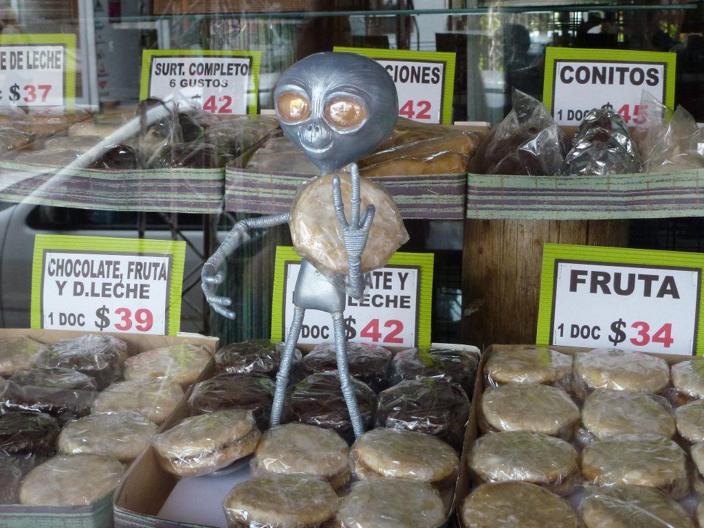 Alien pueblo obsesionado