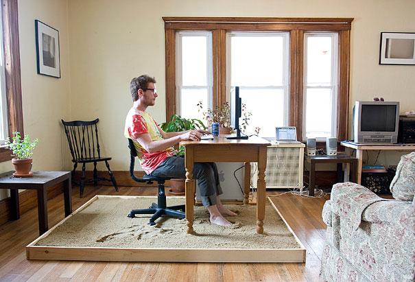 Arenero escritorio
