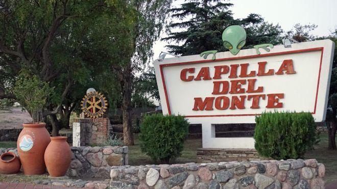 Capilla del Monte cartel