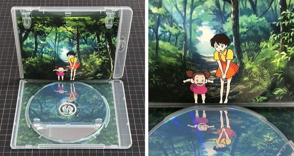 DVD espejo diseño ideas