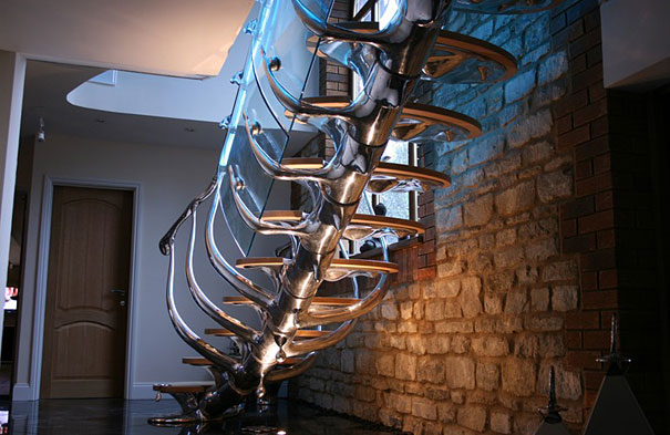 Escalera columna vertebral