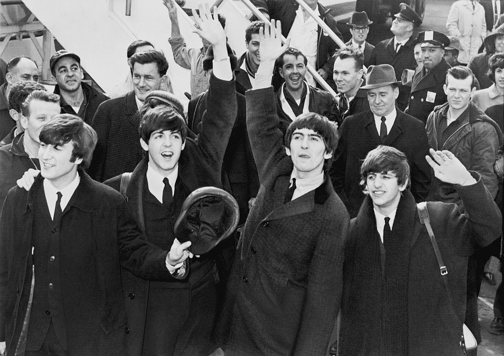 The Beatles Saludando Artistas Curiosidades