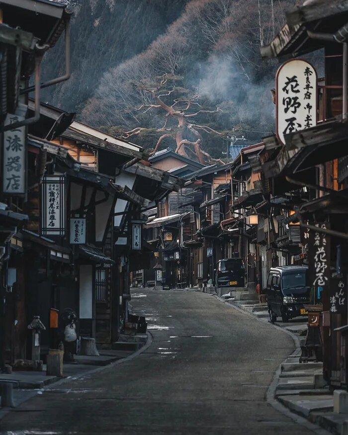 narai juku ciudad japonesa samuráis