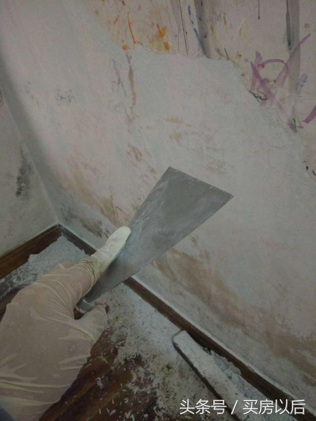 raspar paredes