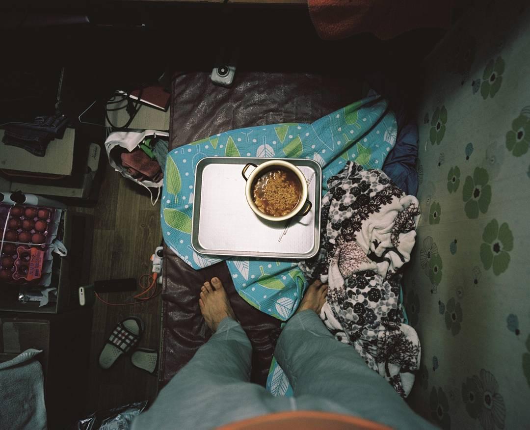 comida en la habitación