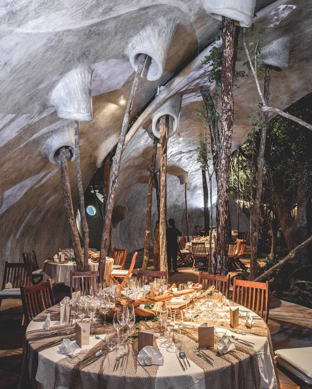 restaurante azulik