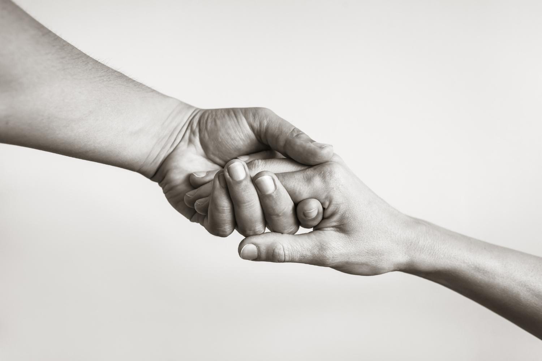 manos unión