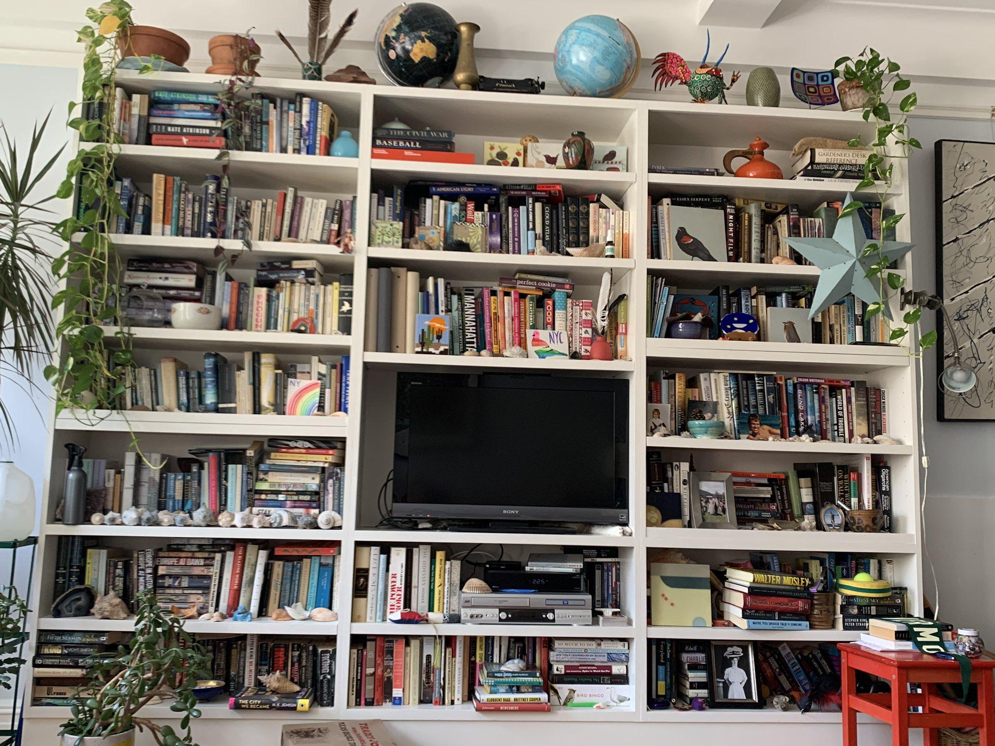 libros estanterias