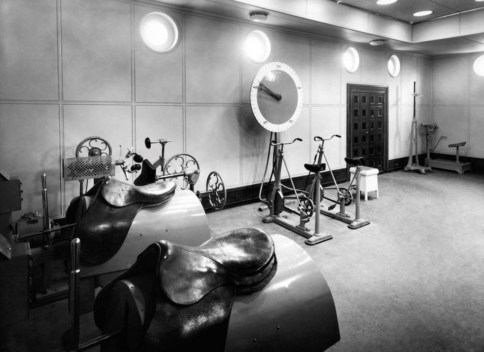 gimnasio de primera clase en el Liner Vulcania