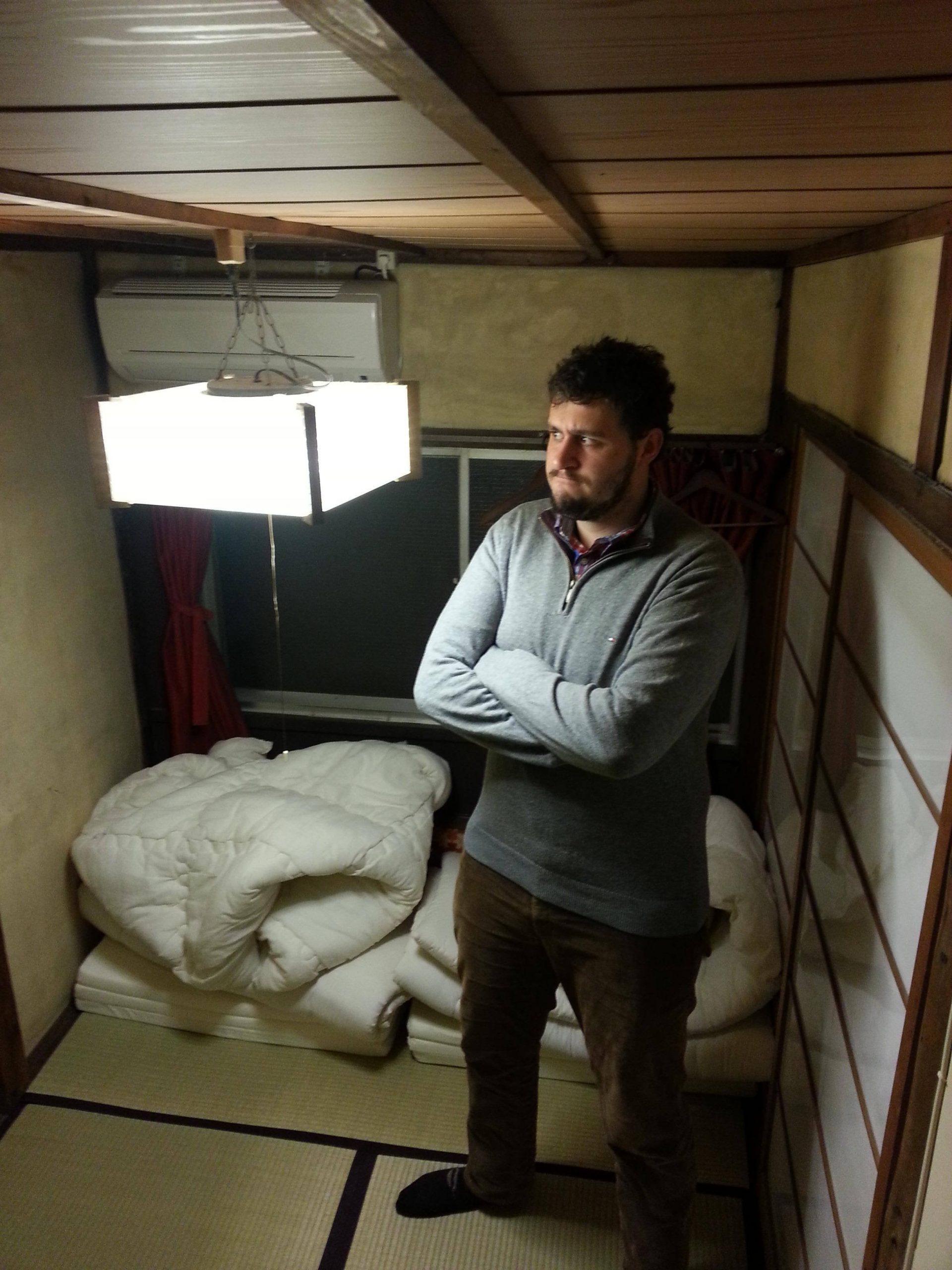 habitacion hostal japon