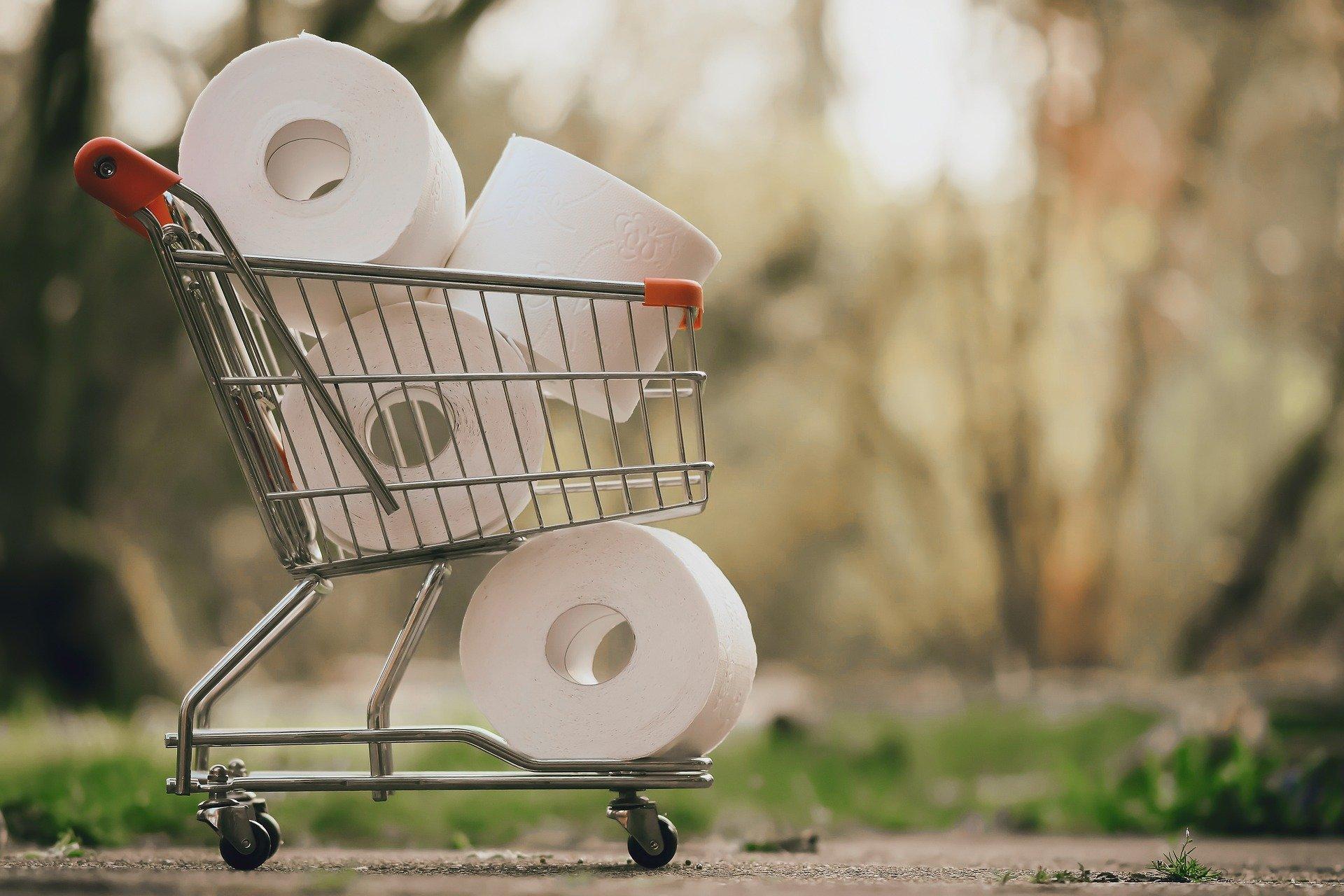 compra papel higiénico