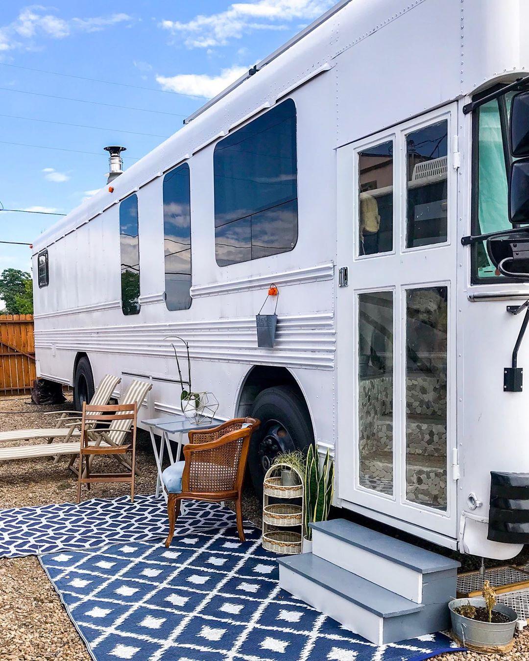 mini casas autobús
