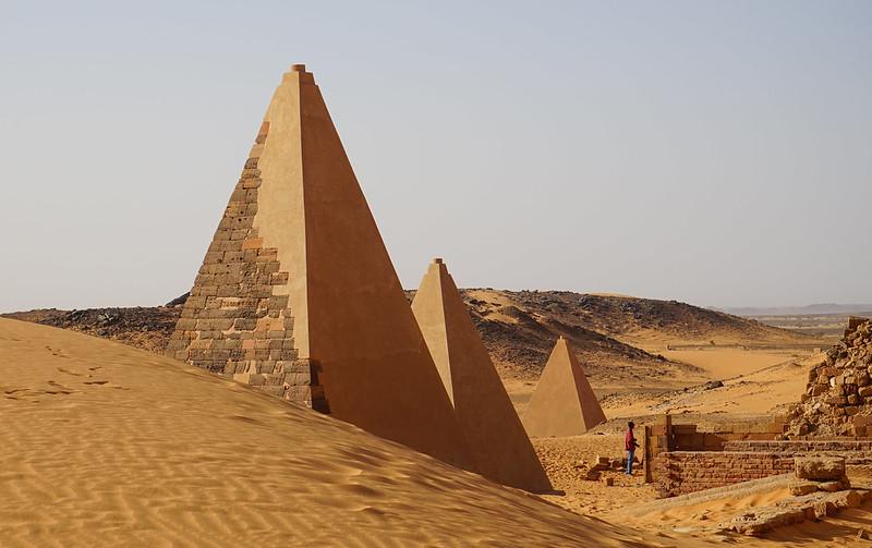 Piramides sudan 4
