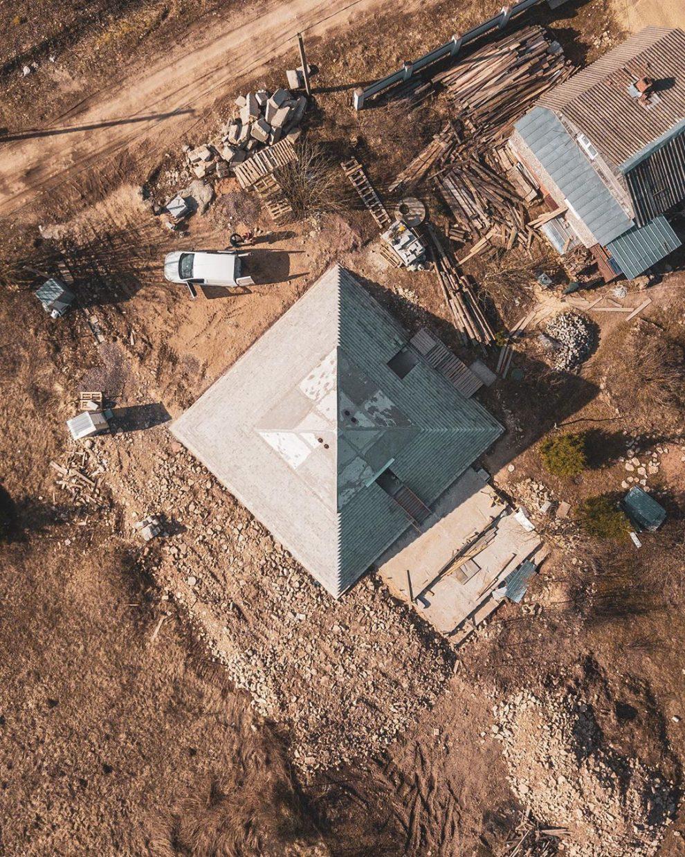 piramide desde arriba