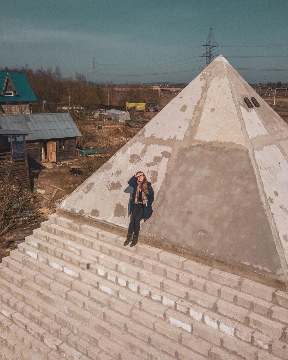 piramide casera