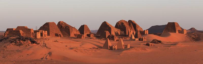 Pirámides Sudán 3
