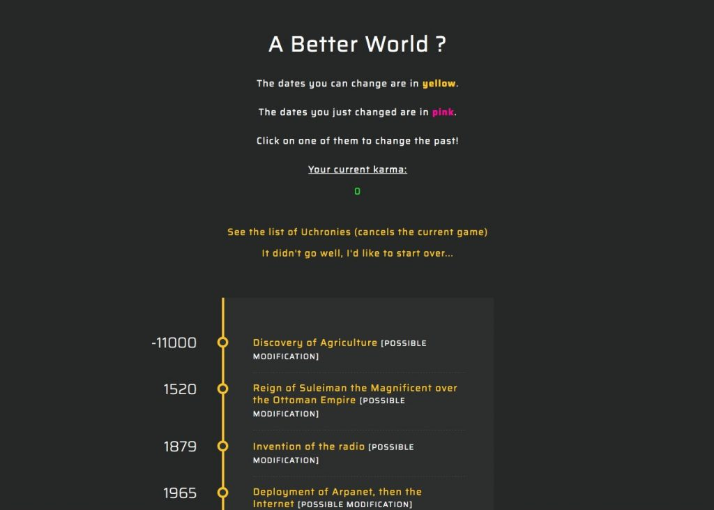 A betther world sitios internet