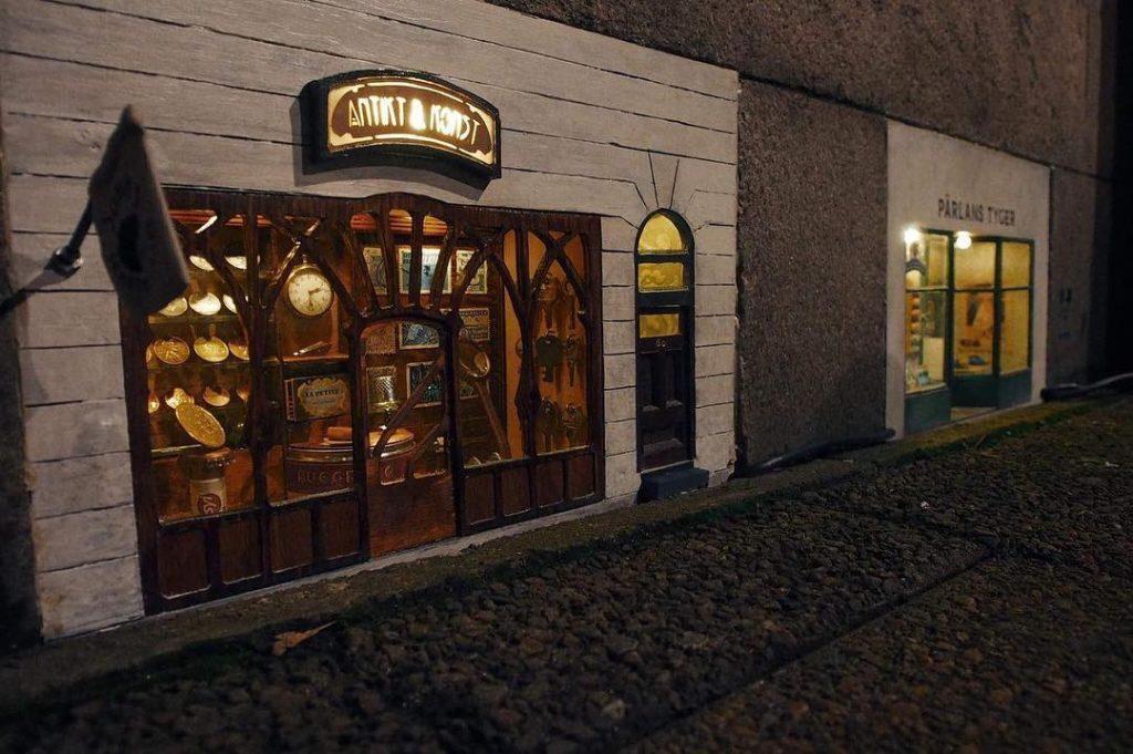 Antigüedades ratones calles
