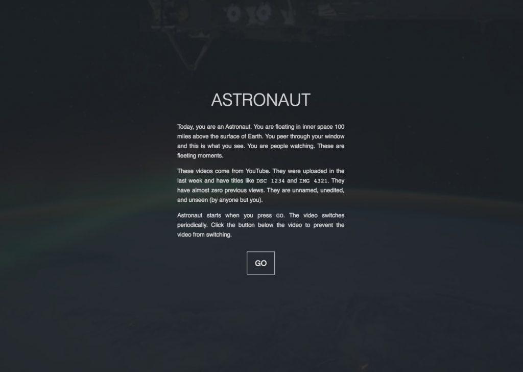 Astronaut sitios interesantes