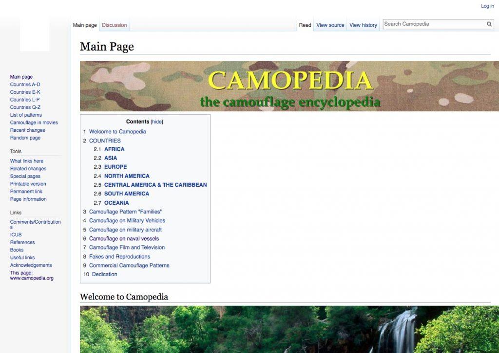 Camopedia sitios internet