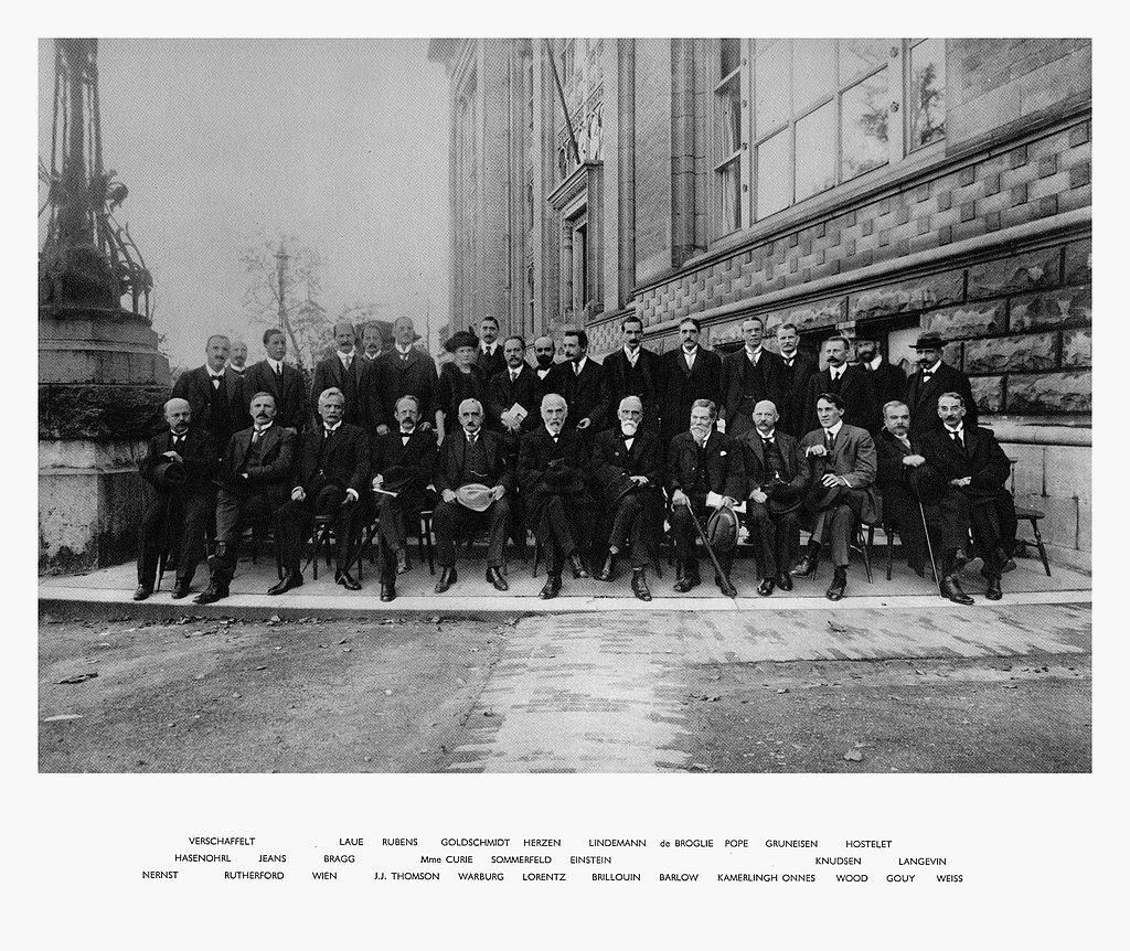 Segunda Conferencia Solvay 1913