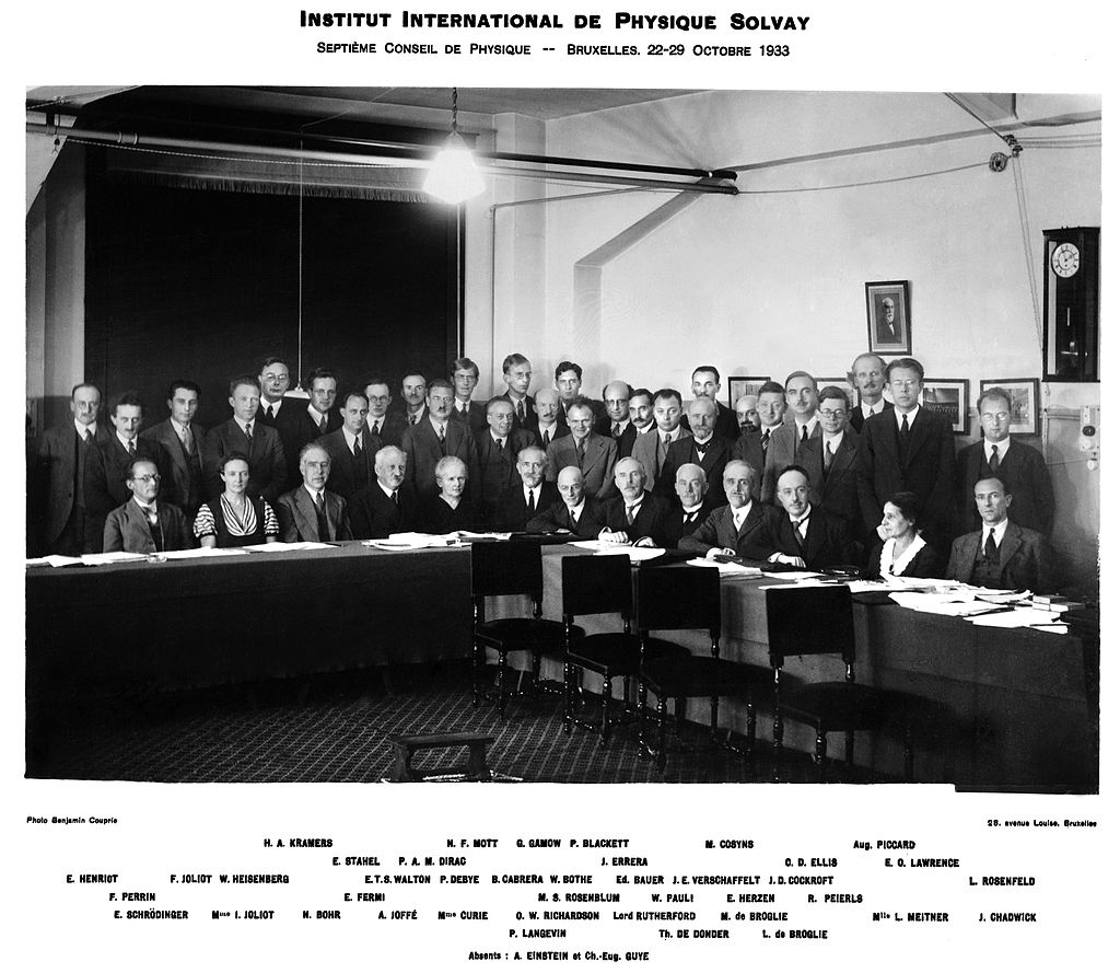 Séptimo Congreso Solvay 1933