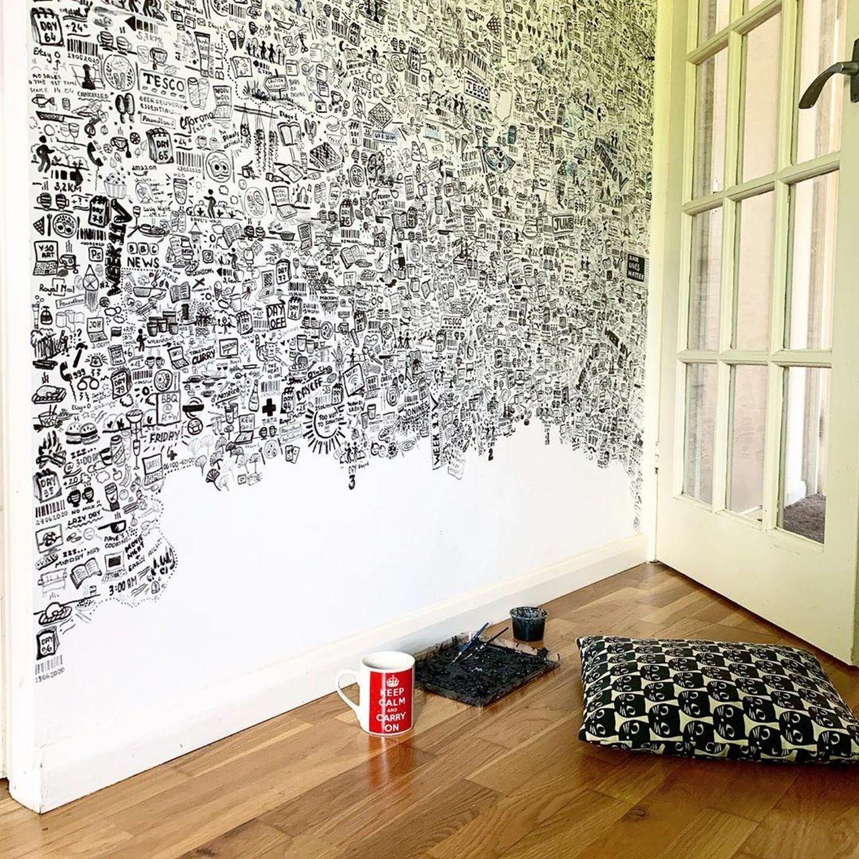 pared dibujos