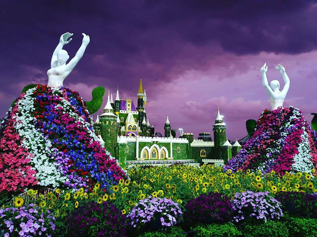 esculturas de flores