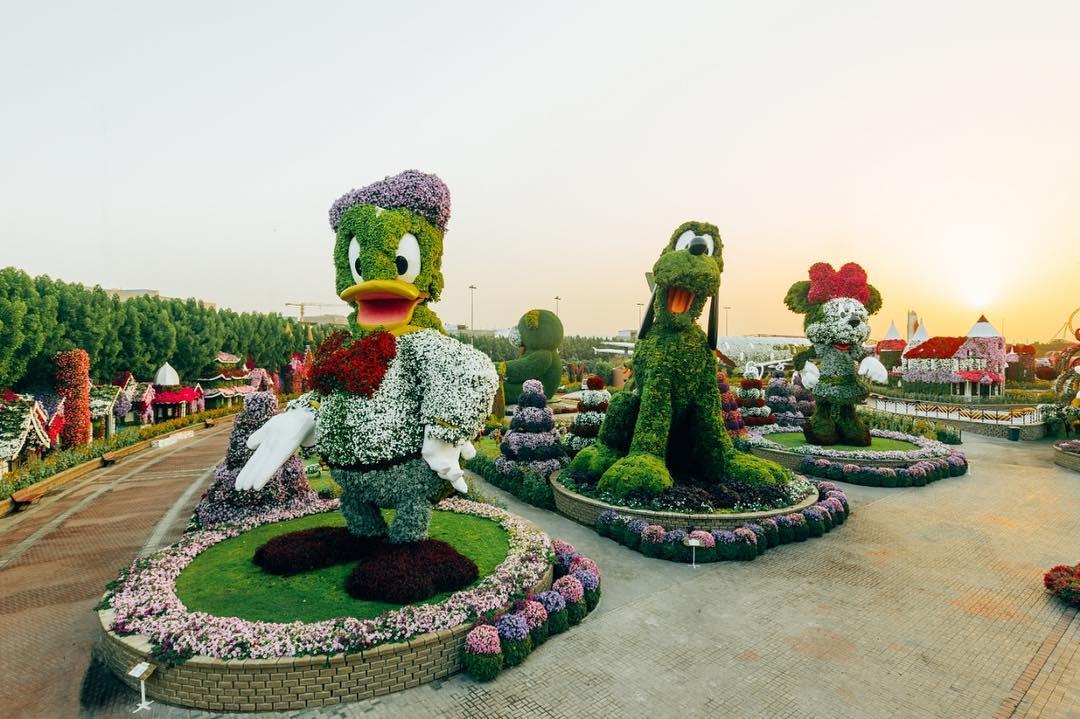 figuras disney flores