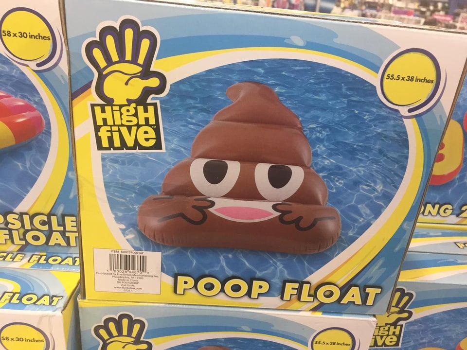 Flotador caca feliz