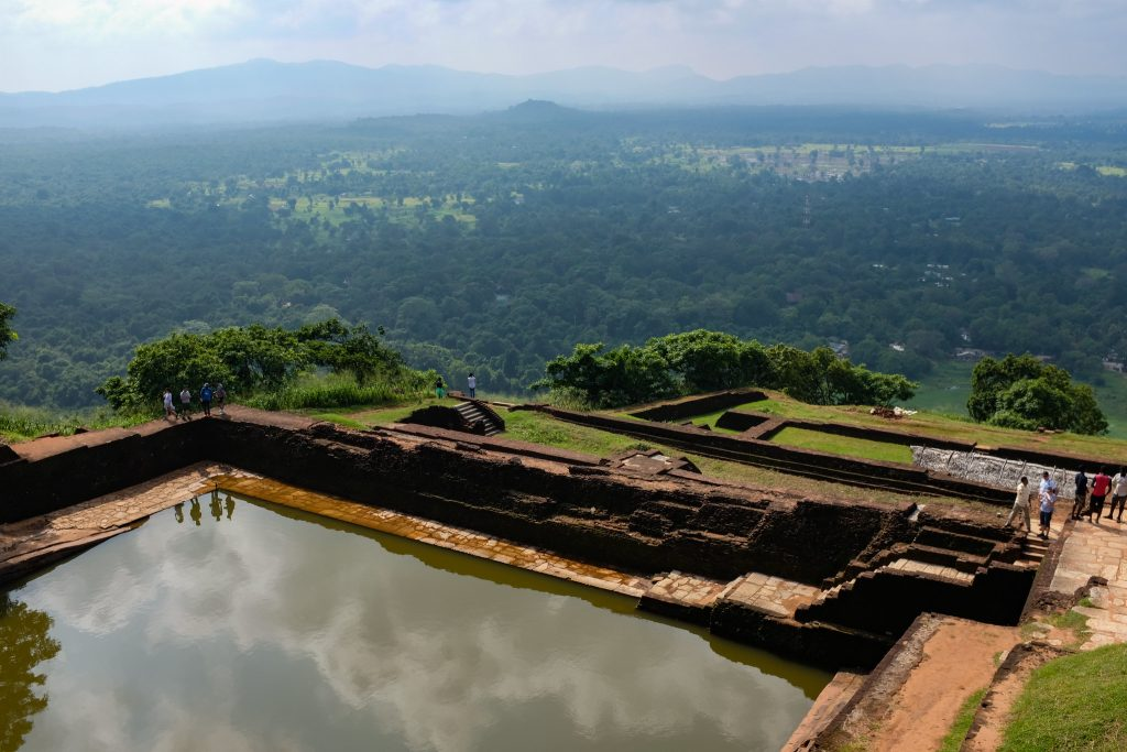 Lago artificial vistas
