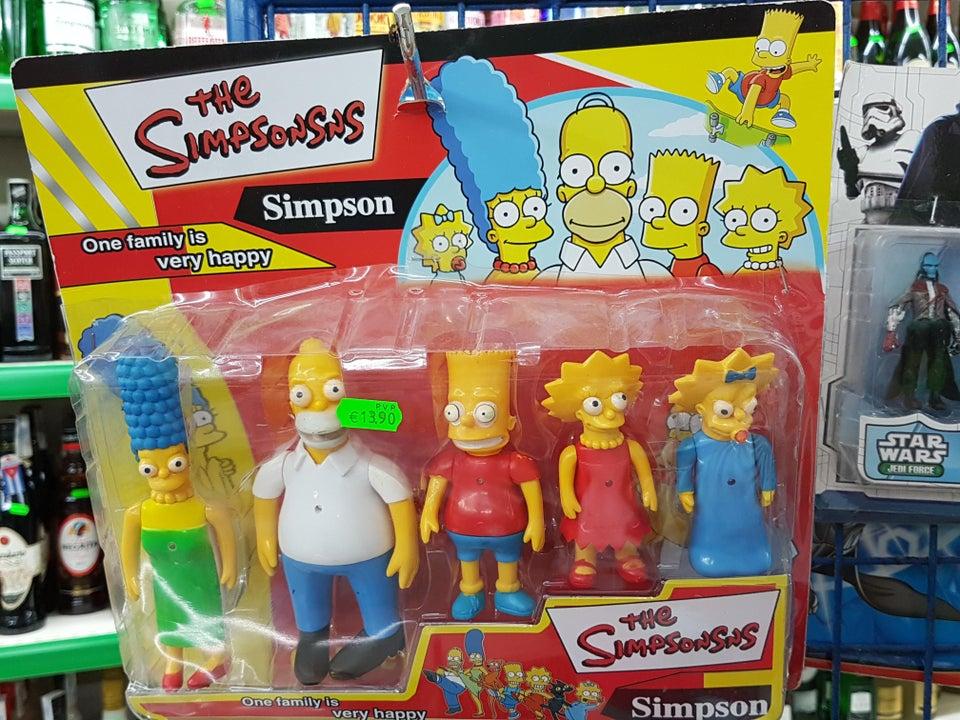 Los Simpsonsns juguetes niños