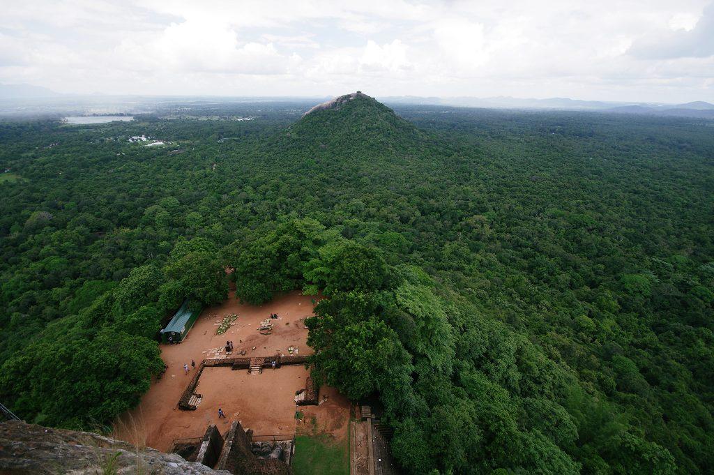 Vista aerea ciudad antigua