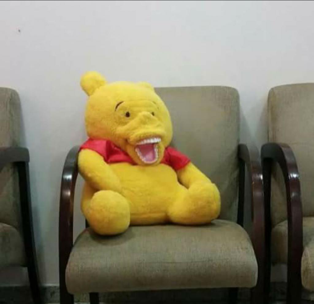 Winnie the Pooh dentadura
