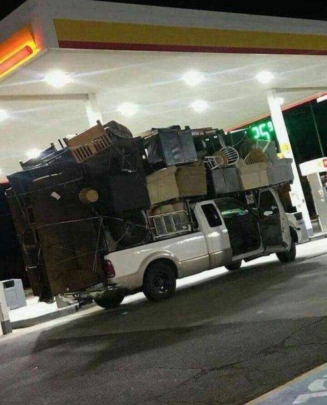 camión de mudanzas
