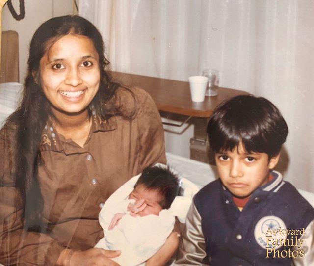 Hermano enfadado nacimiento fotos familiares