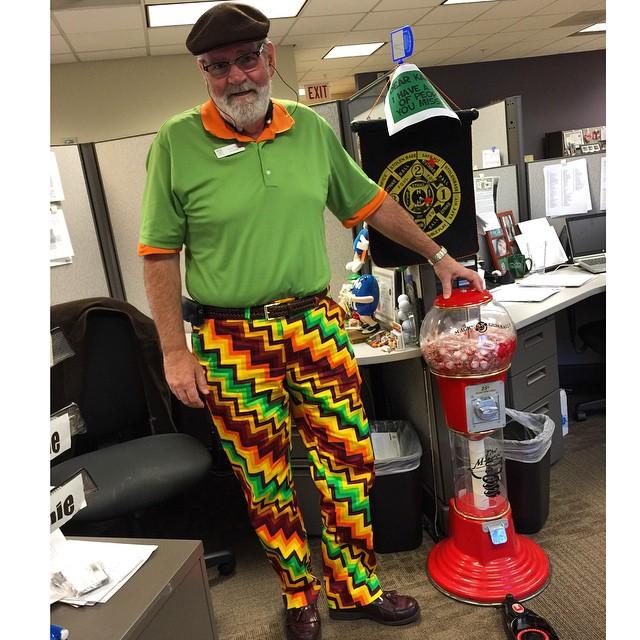 Señor pantalón divertido padres outfits terribles