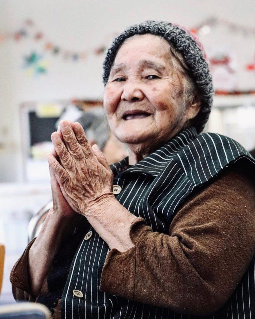 Señora anciana