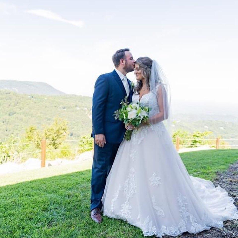 pareja recién casada