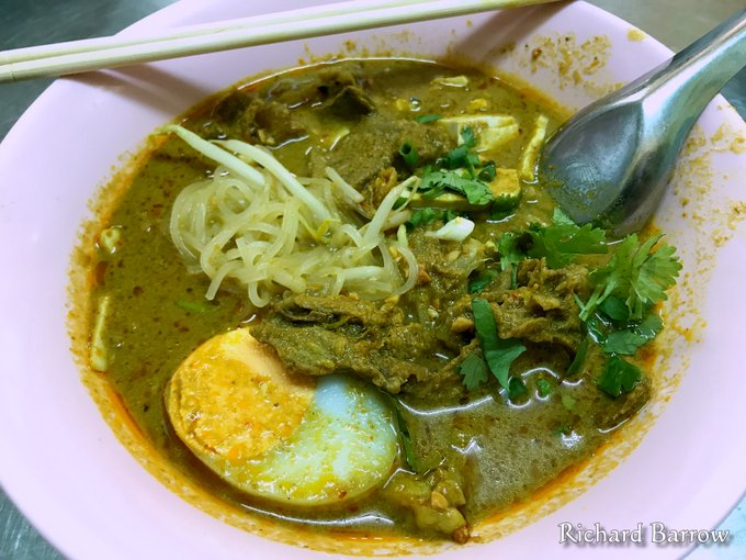 Kuay Teow Gaeng o fideos al curry